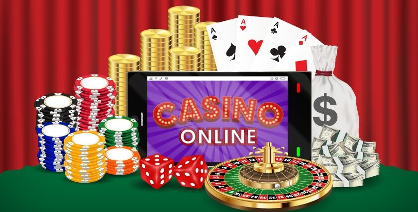 The online casinos offer games from the comfort of your homes