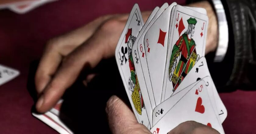 Playing poker is fun: Do you agree?
